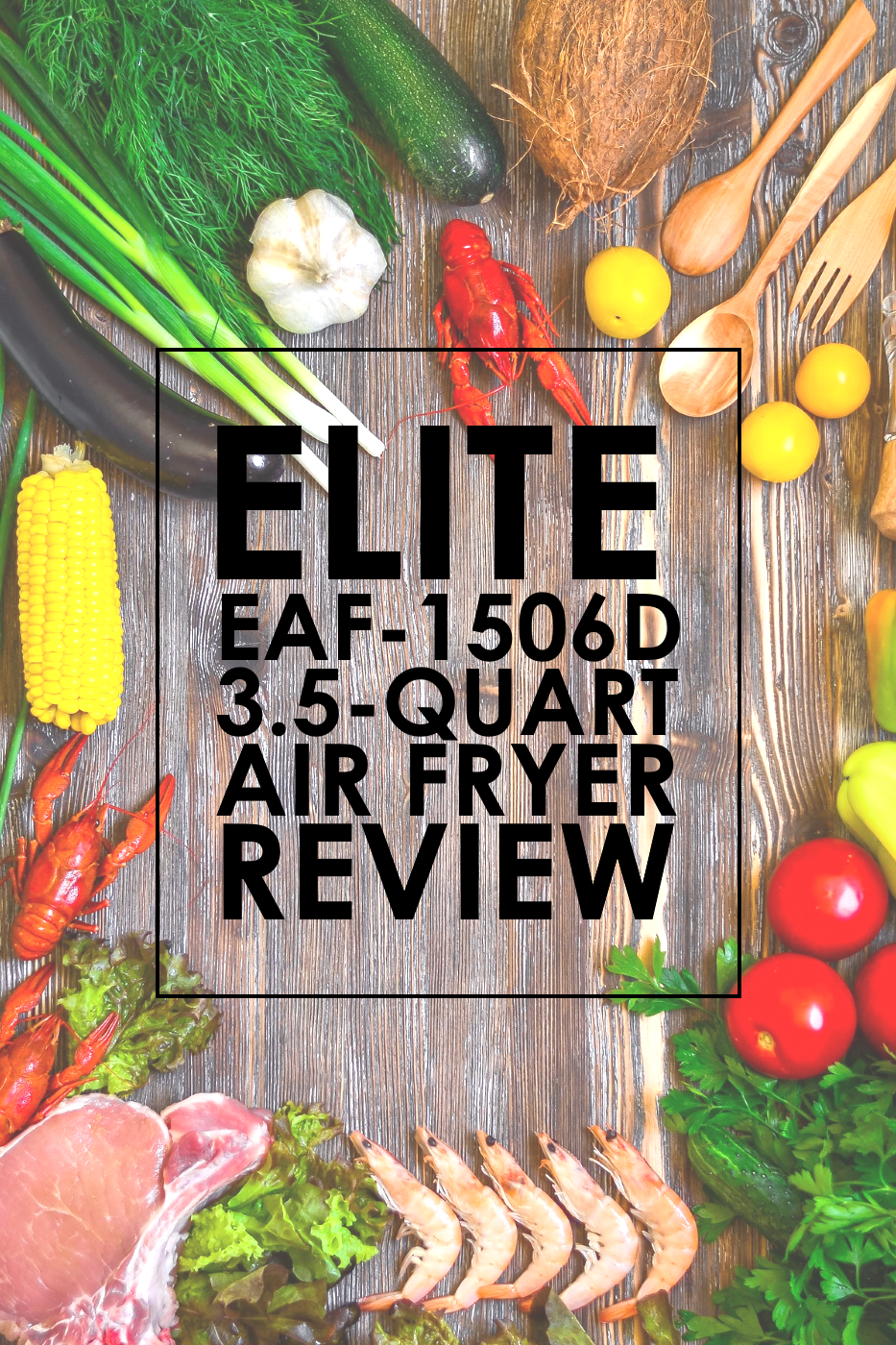 Elite 3.5-Quart Oil-Free Digital Fryer Review